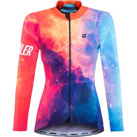 Biehler Thermal Rain Langærmet cykeltrøje Damer farverig